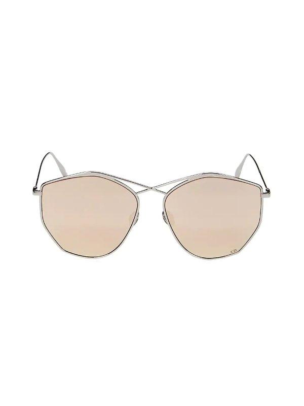 Stellaire 59MM Round Sunglasses