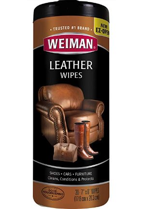 $3.90Weiman Leather Cleaning Wipes - 30 Count