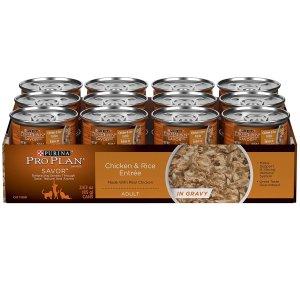 $14.25(原价$25.55)史低价:Purina Pro Plan猫罐头24罐鸡肉米饭配方 100%营养均衡