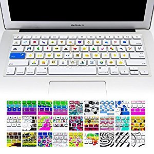 Keyboard Cover Silicone Skin for Macbook Pro 13 Inch, 15 Inch