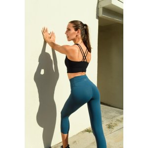 ZEN ZEN STUDIO3/4-length Curve-Emphasizing Yoga Leggings