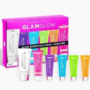 £35入6样明星单品(价值£61,变相5折)上新:Glamglow 小号面膜套装上市热卖