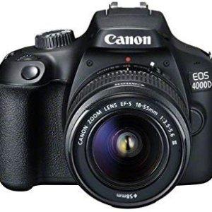 7.8折 收相机+18-55镜头佳能 EOS 4000D 入门级单反好价限时热促