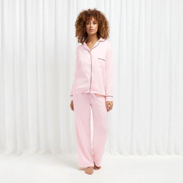 粉色家居服套装