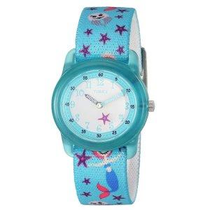 $15.95(原价$25)Timex 女童防水石英手表