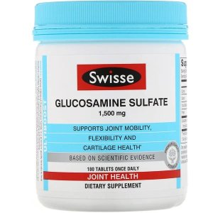SwisseAdd to Shopping cart for 15% OFF Ultiboost, Glucosamine Sulfate, 1,500 mg, 180 Tablets