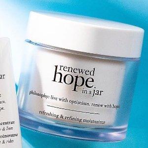 Philosophy  Philosophy Renewed Hope In a Jar Refreshing and Refining Moisturizer, 2 Oz @ Walmart