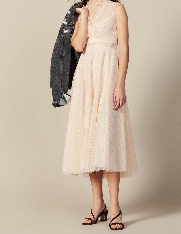 镂空蕾丝纱裙