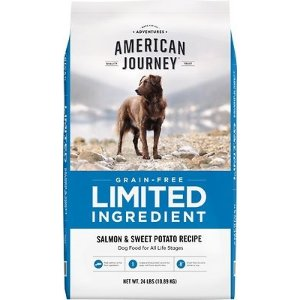 American Journey买2包立减$45Limited Ingredient 无谷三文鱼红薯狗粮 24lb