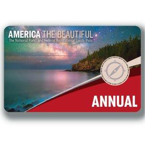 仅$78.4起 可两人同时使用美国59个国家公园一年通卡 去三个国家公园即可回本
