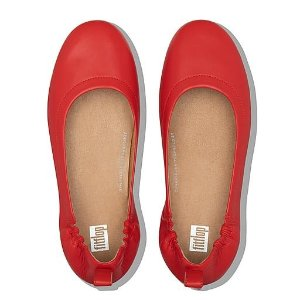 FitFlopLeather Ballet Flats