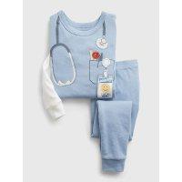 100% 有机棉 医生图案婴儿、小童睡衣套装