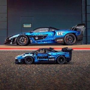优惠价€44.99 比官网还便宜新品上市:LEGO 42123 迈凯伦 Senna GTR 全球限量75台的赛道霸主