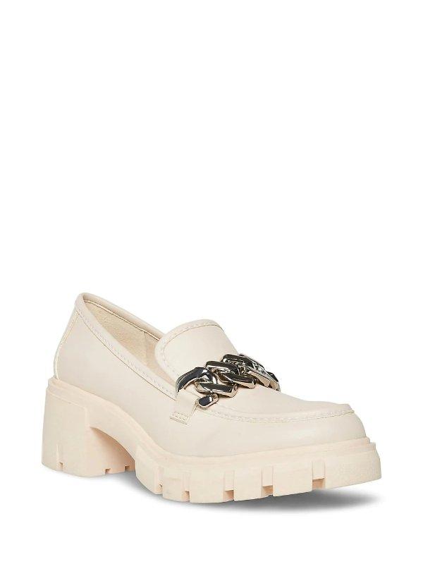 厚底链条乐福鞋