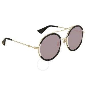 b3e7a22efd GucciPink Round Ladies Sunglasses Pink Round Ladies Sunglasses.  159.99   420.00. Gucci ...