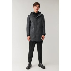 COS羊毛大衣外套
