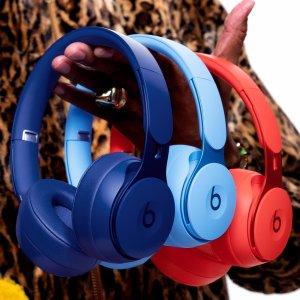 $299.99(原价$379.99)Beats Solo Pro 无线降噪耳机 6色可选