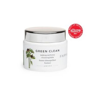 Green Clean Makeup Removing Cleansing Balm | Farmacy Beauty