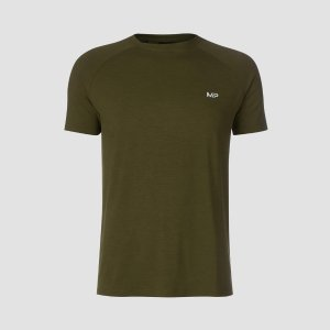 MYPROTEINT-Shirt - Army Green/Black