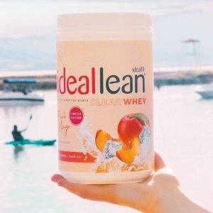 额外8折+免邮独家:Idealfit官网 美味乳清蛋白粉、瘦身奶昔促销 Collagen Boost仅$20