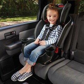 额外8折 封面SlimFit仅售$156.39最后一天:GRACO 儿童双向安全座椅促销