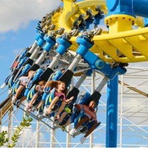 $44.95起 奥兰多+基西米两园通用Fun Spot America 美国趣味景点游乐园门票