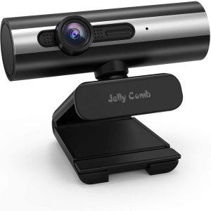 $12.99白菜价:Jelly Comb 1080P 网络摄像头 自带Mic