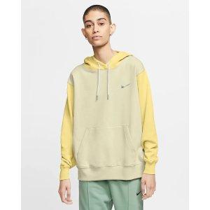 Nike爆款 断码超快!柠檬黄帽衫