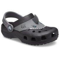 儿童鲨鱼洞洞鞋