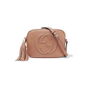 1a4ac1bb9e6a83 GucciSoho Disco textured-leather shoulder bag. £805.00. Gucci Soho ...