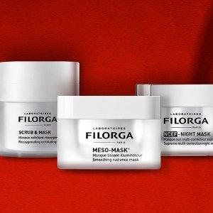 低至4.5折 £4收逆时光面膜Filorga 全场新年惊喜热卖 法国医美助你冻龄逆生长