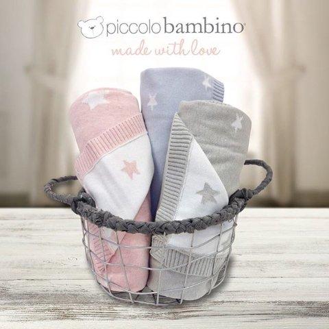 满额7.5折 $9.74收10条小毛巾Piccolo Bambino 新生儿专用洗浴毛巾、安抚玩具等热卖