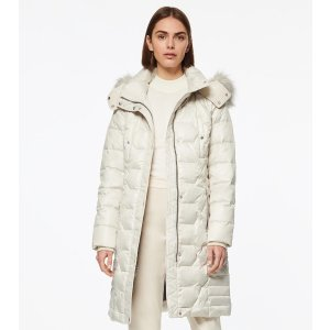Andrew MarcPLYMOUTH BELTED QUILT DOWN COAT