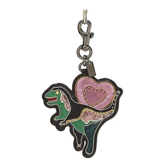 Embellished爱心小恐龙钥匙扣