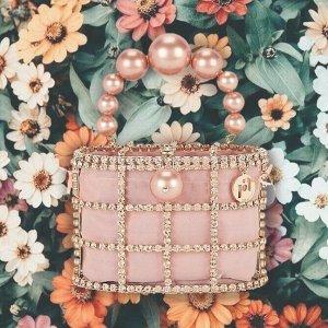7.5折起+额外9折+包所有税欧洲夏日剁手季:Rosantica 精致艺术品 $492收mini封面款包