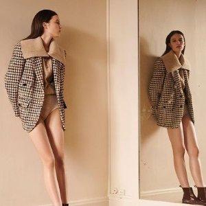 低至5折 爆款羊毛大衣$718Sandro 秋冬美衣打折 快来买超美西装外套、小香风开衫
