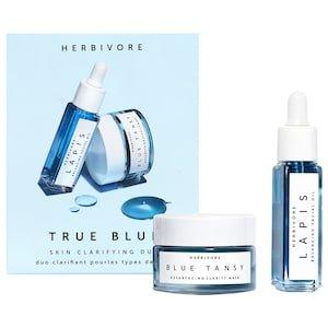 Mini True Blue Skin Clarifying Duo - Herbivore | Sephora