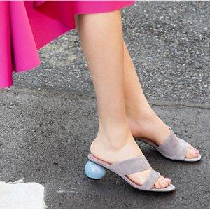 满额包邮 低至4.3折 注册送美鞋2小时后结束 Pedder Red蛋跟鞋,仅需$101的设计+舒适盛宴