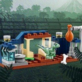 满$35送乐高迅猛龙游戏围栏30382款LEGO®官网 侏罗纪世界系列 拼搭玩具特卖