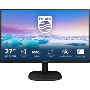 折后€115 原价€169Philips 飞利浦 27寸FHD显示器 1920x1080 高清哑光显示屏