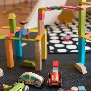 7.5折 新加入部分套装Tegu 高品质木制磁力积木玩具热卖 宝宝创意无限大