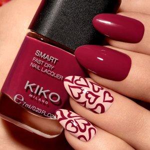 全场低至2.1折Kiko Milano 全场美妆护肤大促 Smart指甲油低至$1.2