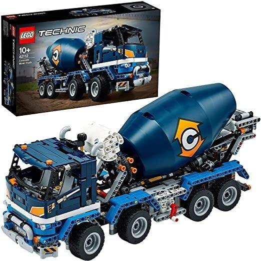 Technic机械组 42112 混凝土搅拌运输车