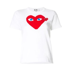 Comme des Garcons Play15% off with $150 Purchaseheart logo T-shirt
