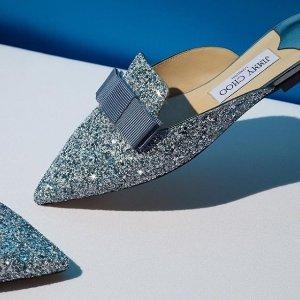 低至4.6折 €416收封面款Jimmy Choo 美鞋年中大促 亮晶晶的美鞋等你来