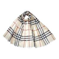 Burberry 经典款羊毛真丝围巾