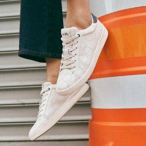 2.5折 芭蕾鞋$47 运动鞋$40Coach Outlet 潮鞋清仓 平价Gucci乐福鞋$57 (原价$228)