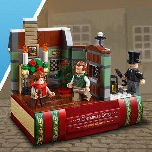 满额送狄更斯圣诞颂歌 + 大砖块开抢:LEGO 乐高官网周末大促来袭 VIP专享双倍积分