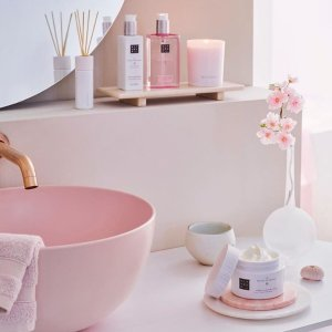 全线7折 €6.65收泡沫沐浴Rituals 荷兰小众身体护理 高颜值樱花系列 馨香提升居家幸福感