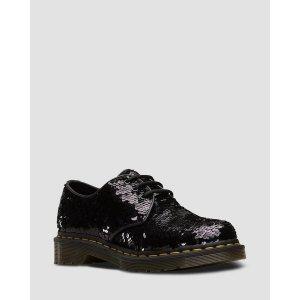 Dr. Martens1461 黑色平底鞋